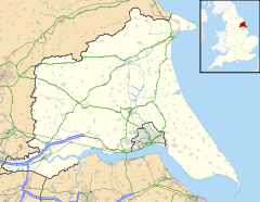 East Riding of Yorkshire UK location map