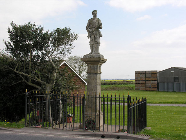 War Memorial at Swinefleet